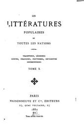Traditions et superstitions de la Haute-Bretagne: Volume 10