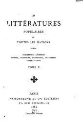 Traditions et superstitions de la Haute-Bretagne: Volume10