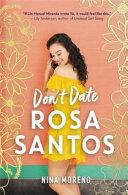 Download Don t Date Rosa Santos Book