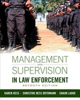 Management and Supervision in Law Enforcement PDF