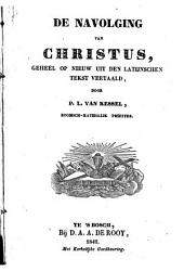 De navolging van Christus: Volume 1