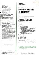 Southern Journal of Optometry PDF
