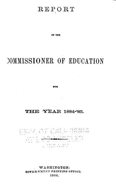 Download Annual Report of the Commissioner of Education Book