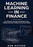 Machine Learning in Finance PDF