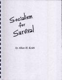Socialism for Survival