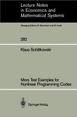 More Test Examples for Nonlinear Programming Codes