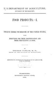 Food Products ...: Volumes 1-3