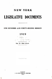 New York Legislative Documents: Volume 2