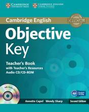 Objective Key Teacher s Book with Teacher s Resources Audio CD CD ROM PDF