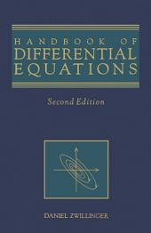 Handbook of Differential Equations: Edition 2