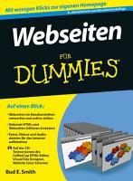 Webseiten f  r Dummies PDF