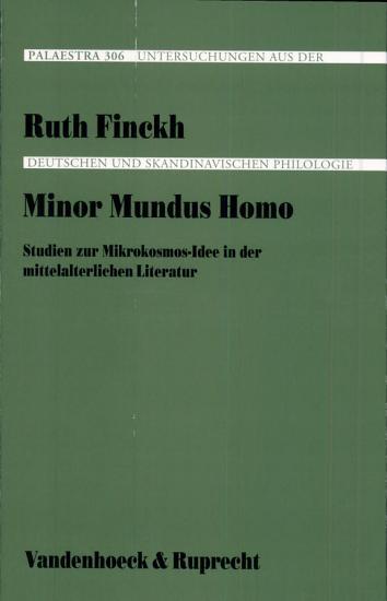 Minor mundus homo PDF