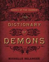 The Dictionary of Demons PDF