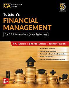 Tulsian   s Financial Management For CA Intermediate  New Syllabus    For Paper 8A Book