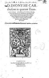 In Quatuor Evangelistas enarrationes