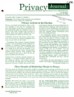 Privacy Journal
