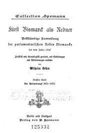 bd. Der kulturkampf, 1871-1873