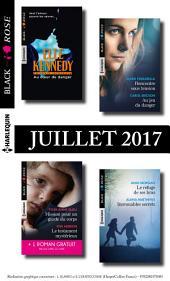 9 romans Black Rose + 1 gratuit (no436 à 439 - Juillet 2017)