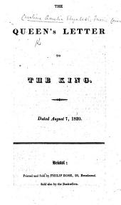 The Queen's Letter to the King. Fourth edition
