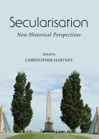 Secularisation PDF