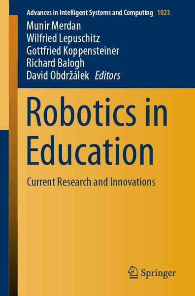 Download Robotics in Education Book