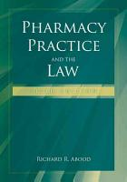Pharmacy Practice and the Law PDF