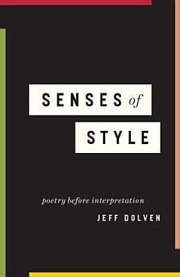 Senses of Style PDF