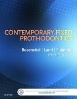 Contemporary Fixed Prosthodontics   E Book PDF