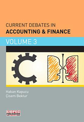 Current Debates in Accounting   Finance PDF