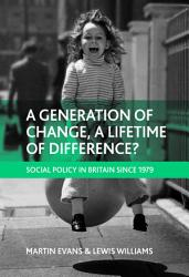 A Generation of Change  a Lifetime of Difference  PDF
