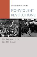 Nonviolent Revolutions PDF