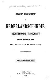 Indisch tijdschrift van het recht: orgaan der Nederlandsch-Indische juristen-vereeniging, Deel 63