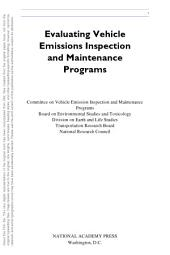Evaluating Vehicle Emissions Inspection and Maintenance Programs