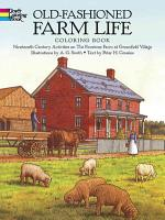 Old Fashioned Farm Life Coloring Book PDF