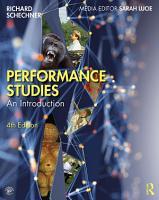 Performance Studies PDF