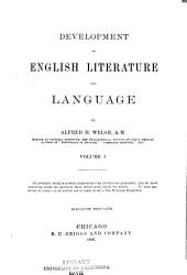 Development of English Literature and Language