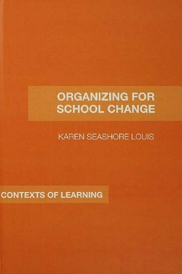 Organizing for School Change PDF