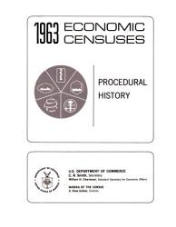 1963 Economic Censuses Book PDF