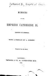 Memoirs of the Empress Catharine II