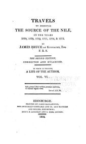Travels to Discover the Source of the Nile, in the Years 1768, 1769, 1770, 1771, 1772, & 1773: Volume 6