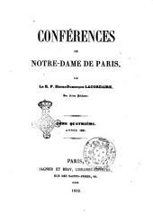 Conférences de Notre-Dame de Paris par Henry-Dominique Lacordaire: Année 1851, Volume4