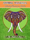 Animal Mandala Coloring Book for Adults PDF