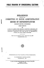 Public Financing of Congressional Elections PDF