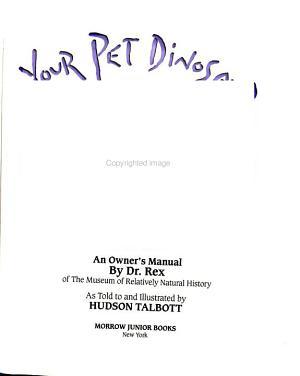 Your Pet Dinosaur PDF