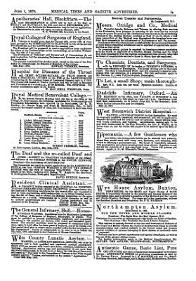 The Medical Times and Gazette0 PDF