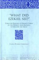 What Did Ezekiel See?