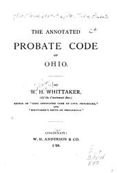 The Annotated Probate Code of Ohio