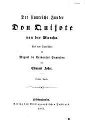 Der sinnreiche Junker Don Quijote von der Mancha: Band 3