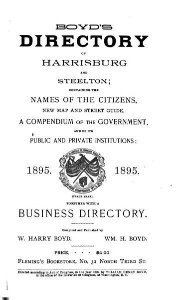 Download Polk s Greater Harrisburg     City Directory     Book