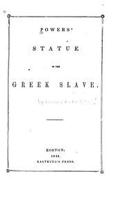 Powers' Statue of the Greek Slave